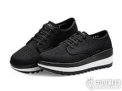 哥弟女鞋2019夏季新款透气小白鞋
