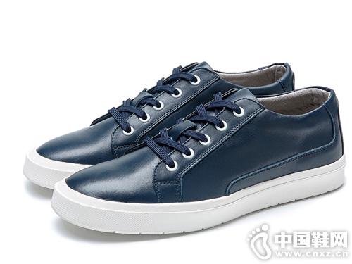 康龙男鞋韩版真皮板鞋休闲鞋滑板鞋