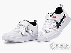 上冠童鞋网面板鞋运动鞋2019夏款