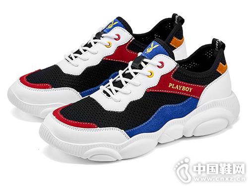 花花公子男鞋子潮鞋2019夏季新款