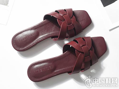 网红款女ins潮CHIC DOLL琪可朵女土凉鞋