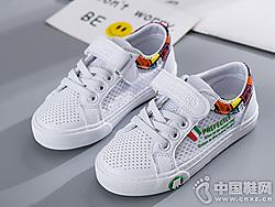 海�d����童鞋2019夏季新款�W鞋小白鞋