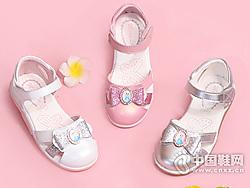 明璐童鞋女童凉鞋2019夏季镂空凉鞋