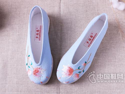 步瀛斋老北京千层底手工布鞋