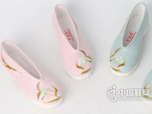 步瀛斋手工老北京千层底布鞋