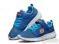 Skechers斯凯奇夏季新款网布儿童透气防滑运动鞋