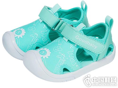gb好孩子夏日游猎童凉鞋学步鞋