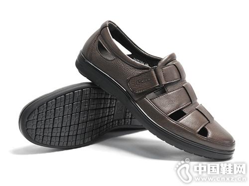 19年新款Kaieers科而士休闲舒适镂空凉鞋