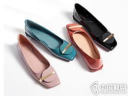 Kisscat接吻�2019秋新款船鞋