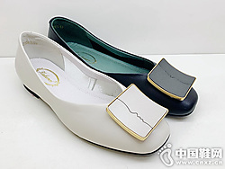 卡璐美正品2019夏款�\口女鞋�r尚