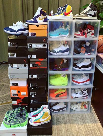 徐正溪一个月内就买了将近20双球鞋,白敬亭鞋神地位不保啊