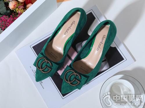 丹比奴时尚秋新品-时尚高跟鞋