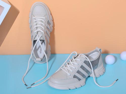 舒适小白鞋-2019秋季丹比奴新品