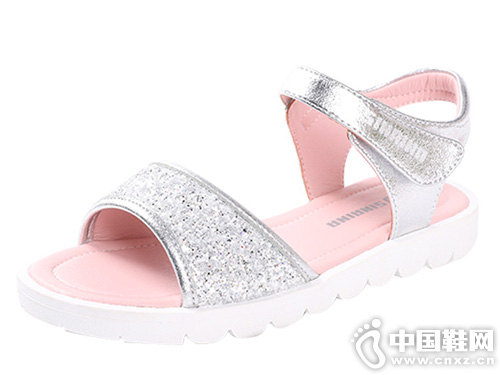斯乃納-女童涼鞋2019夏新款軟底涼鞋