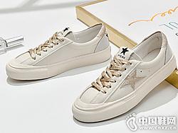 华耐小白鞋女2019夏款百搭基础休闲板鞋