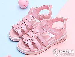 小叮当女童凉鞋2019新款夏季时尚公主鞋