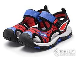 咔路比2019新款童鞋夏季男童�鲂�