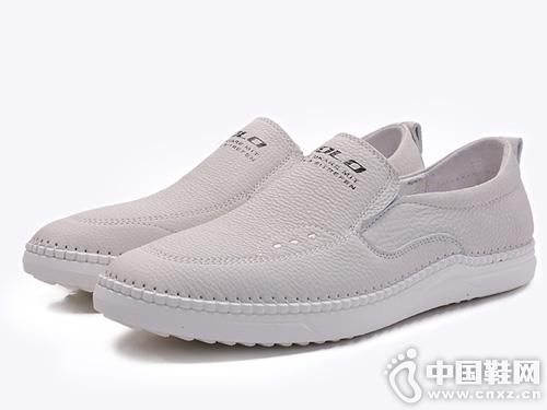 VOLO犀牛2019春季新款真皮駕車鞋