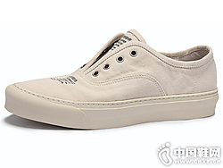 BK伯帝酷奇帆布鞋男2019春夏套脚板鞋