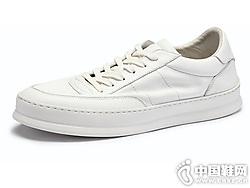 潮流韩版休闲男鞋BK伯帝酷奇鞋百搭小白鞋