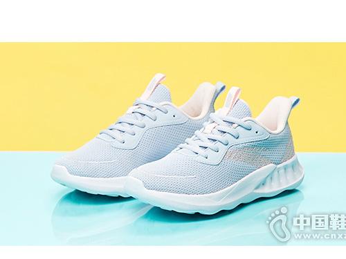 安踏女童2019秋季新款透气轻便跑步鞋