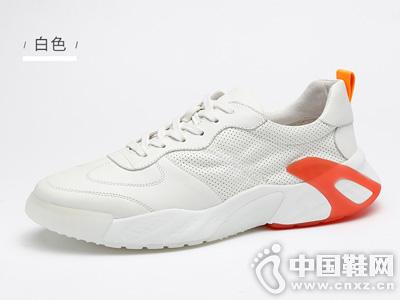 �R��杜克男鞋夏季透�獍逍�2019潮鞋