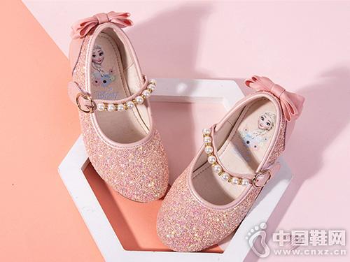 经典亮片公主鞋-富罗迷女童皮鞋2019新款