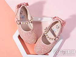 �典亮片公主鞋-富�_迷女童皮鞋2019新款