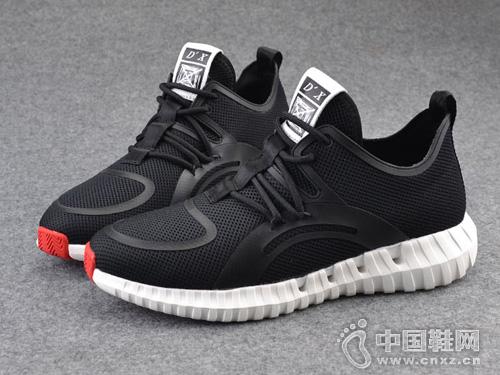 2019夏季新款网面鞋Rishun日顺皇男鞋