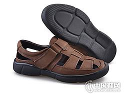 Rishun日顺皇男鞋2019新款夏季凉鞋