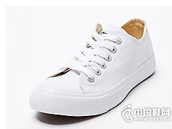 美特斯邦威帆布鞋男板鞋2019新款帆布鞋