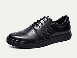 爱得堡男士运动鞋复古休闲皮鞋