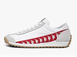 Kappa卡帕BANDA串标情侣男女款跑鞋复古休闲鞋