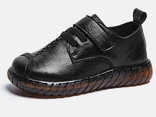 阿童木童鞋男童皮鞋黑色英伦儿童2019新款