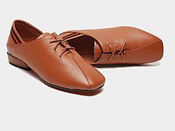 漫沙洛平底单鞋女粗跟春季2019新款