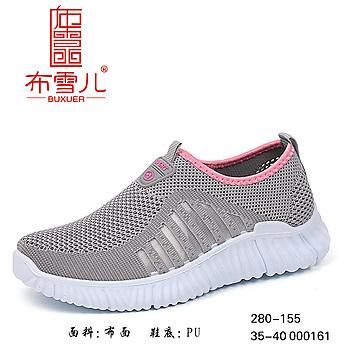 布雪儿老北京布鞋2019休闲舒适女网鞋