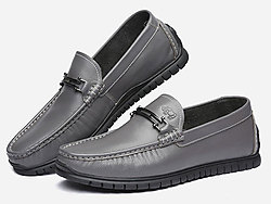 VOLO犀牛休闲鞋-男乐福鞋皮鞋豆豆鞋