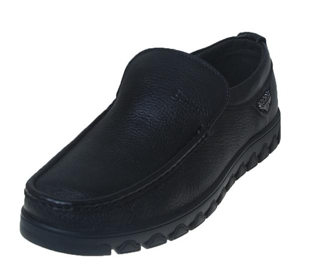 Baitushi柏图仕男鞋 秋冬舒适一脚蹬皮鞋