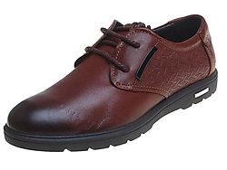 Baitushi柏图仕男鞋-系带复古商务正装皮鞋