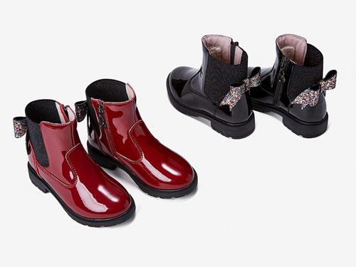 五粒豆儿童公主靴2019冬季新款