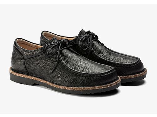 BIRKENSTOCK男款系带软木休闲鞋Pasadena系列