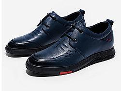 保罗骑士内增高男鞋6cm休闲皮鞋潮