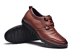 富�F�B2019秋季新款真皮皮鞋