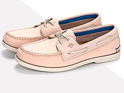 SPERRY斯佩里女鞋浅口休闲女士低帮船鞋