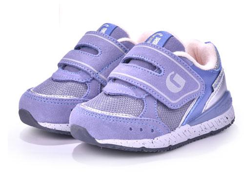 基诺浦19年新秋款1-3-5岁男童女童机能鞋宝宝鞋