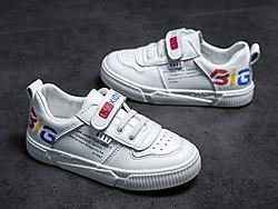��P小新�和�板鞋男童小白鞋2019秋季新款