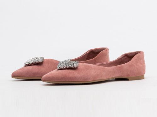 DFUSE迪芙斯2019秋季新款時尚尖頭單鞋
