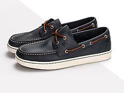 SPERRY斯佩里男鞋-透气舒适低帮皮鞋