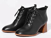 都市情人粗跟短靴女2019新款百搭英���L�R丁靴