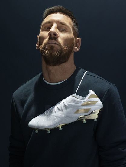 adidas 发布「梅西 15 周年」NEMEZIZ 纪念款球鞋